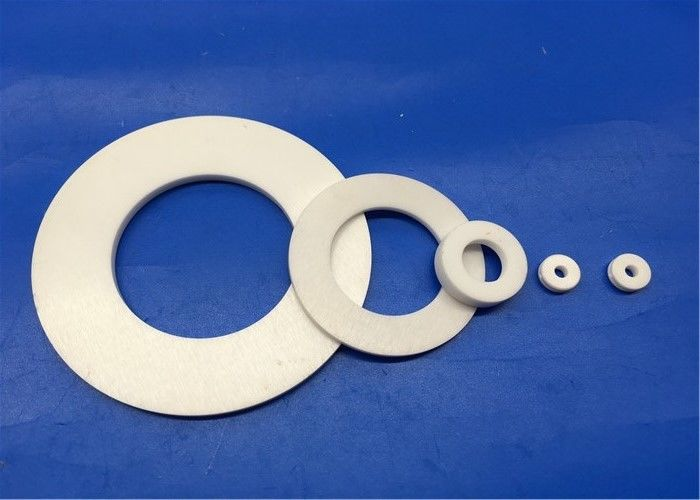 99%  99.7% Alumina Ceramic Insulation Ring / Spacer / Wafer / Disk
