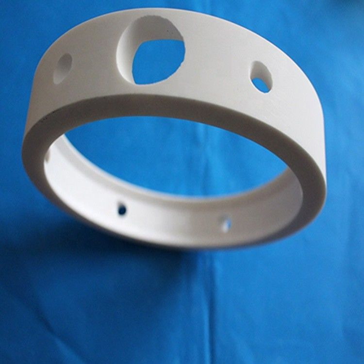 High Mechanical Strength Alumina Ceramic Ring for electronics industry